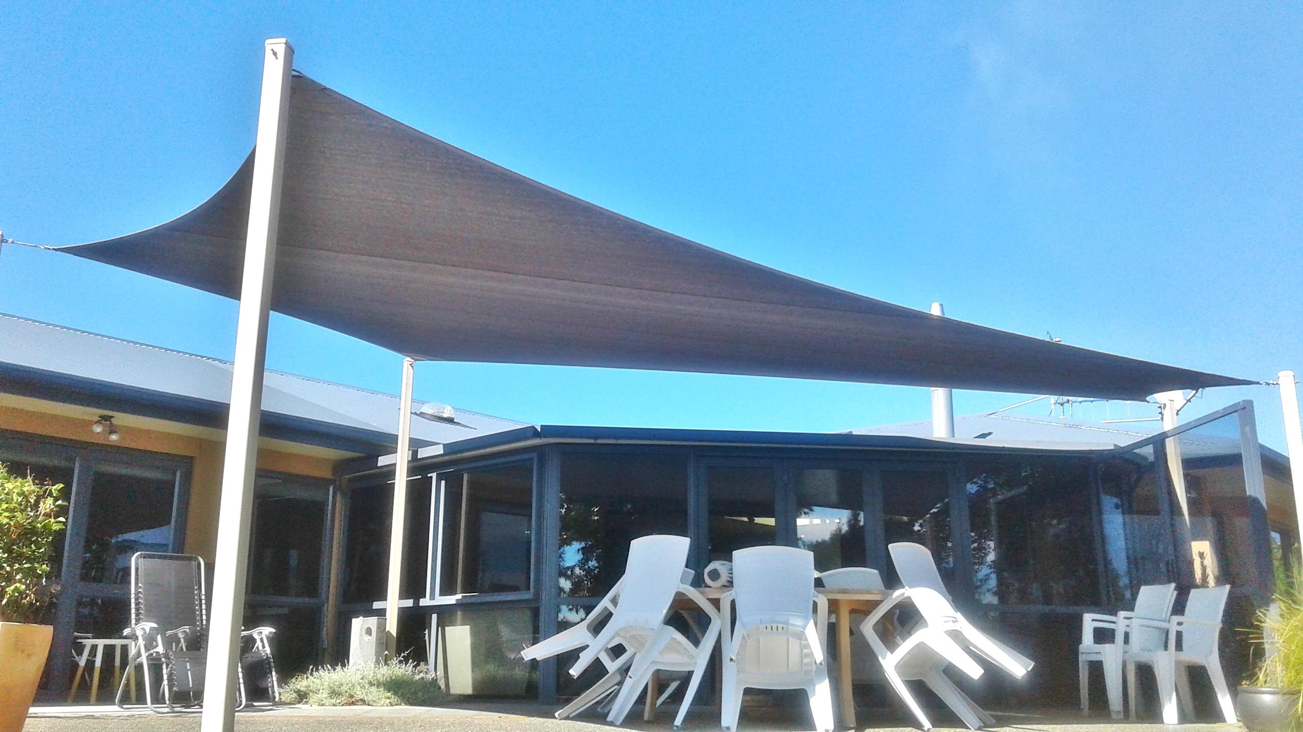 Shade sail 5 nelson shade solutions for Colorado shade sail