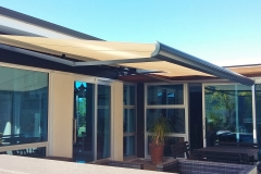 Electric awning